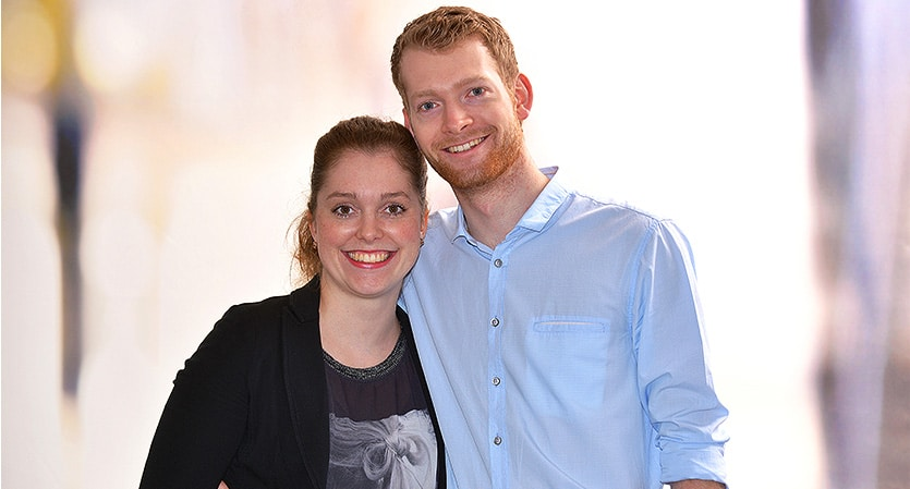 Stefan und Carolin Brand vom Restaurant Von Koeppen Paderborn