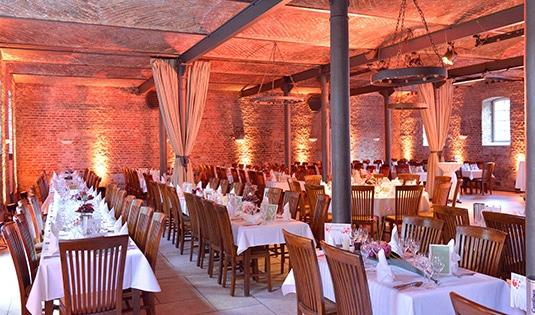 Perfekter Raum für Hochzeiten und Familienfeiern auf Gut Ringelsbruch bei Paderborn
